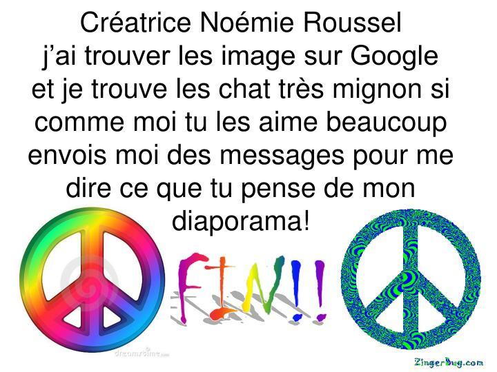 Créatrice Noémie Roussel