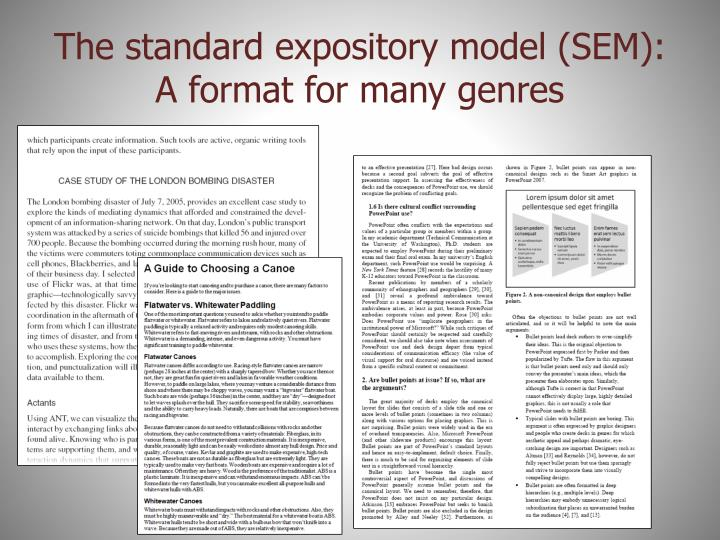 The standard expository