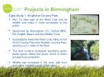 projects in birmingham