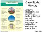 case study mercury