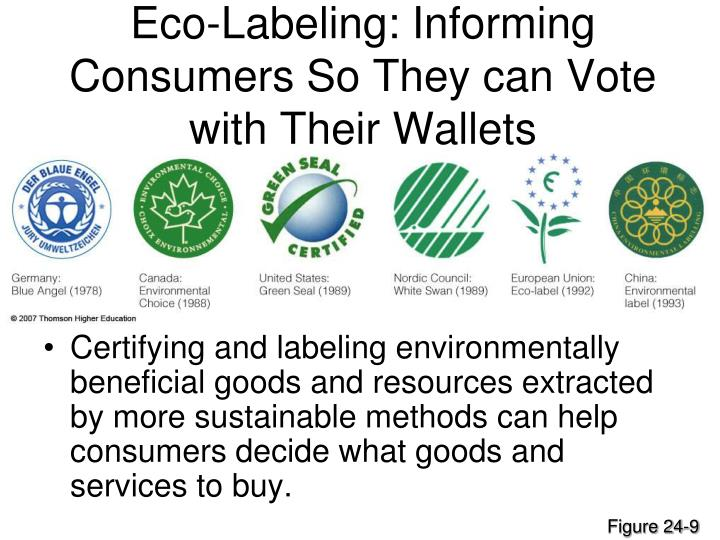 Eco-Labeling: Informing Consumers So They can Vote with Their Wallets