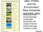 jobs profits and the environment new industries and new jobs
