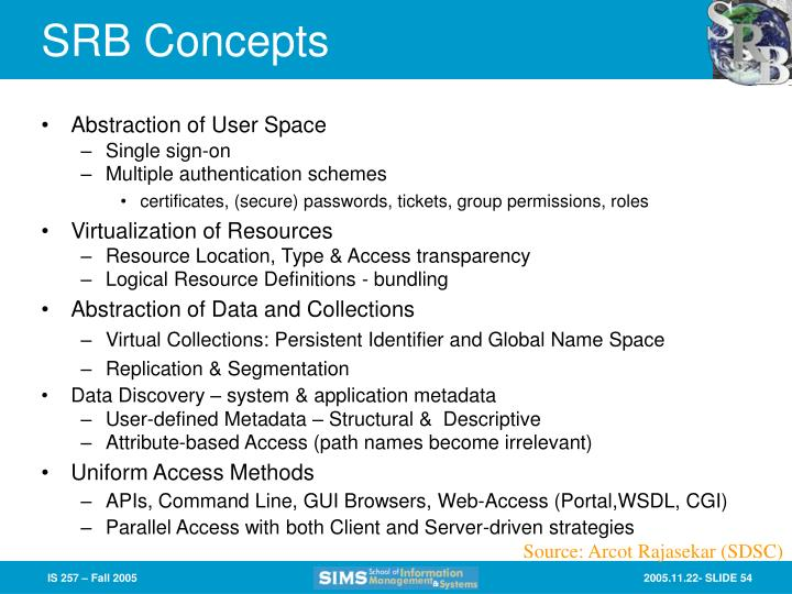 SRB Concepts