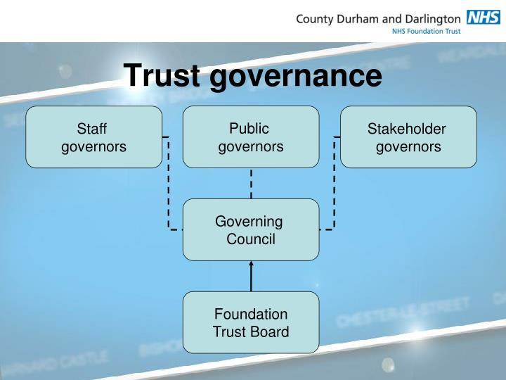 Trust governance