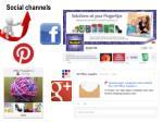 social channels1