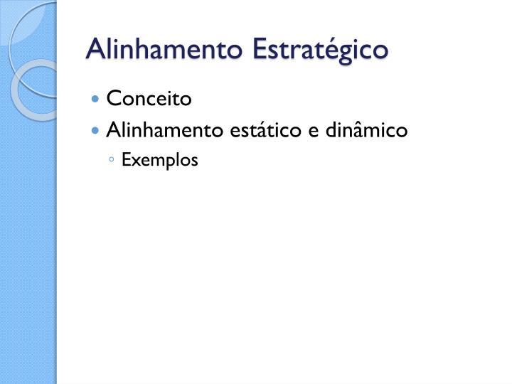 Alinhamento Estratégico