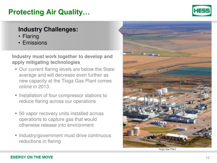 Protecting Air Quality…
