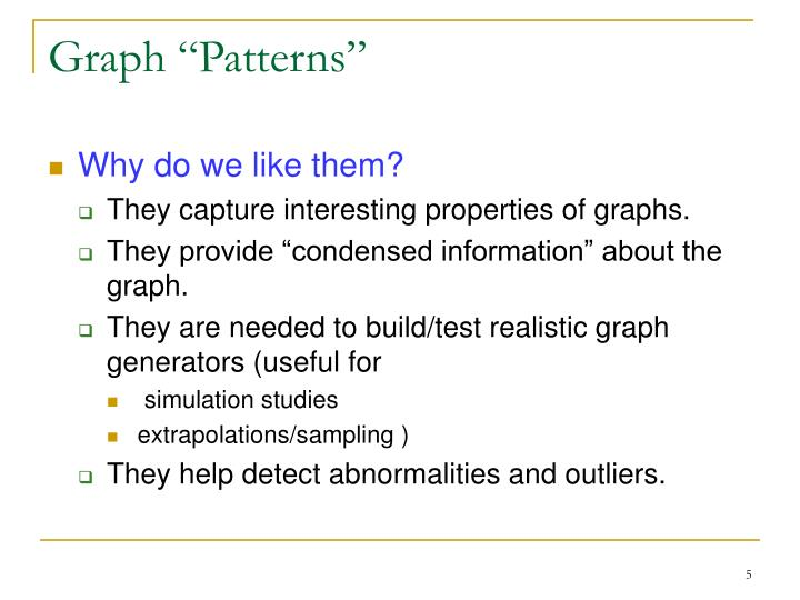 "Graph ""Patterns"""