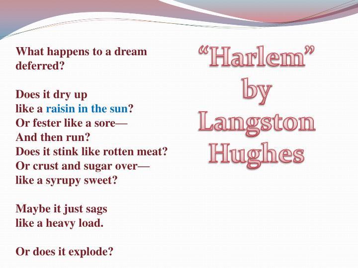 """""""Harlem"""""""