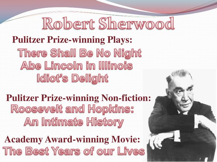 Robert Sherwood