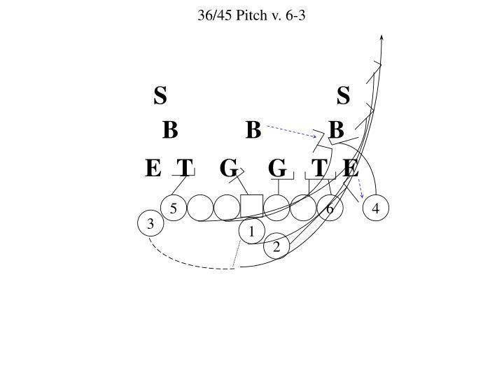36/45 Pitch v. 6-3
