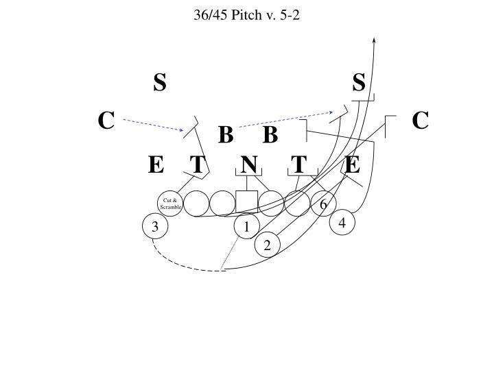 36/45 Pitch v. 5-2