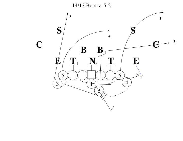 14/13 Boot v. 5-2