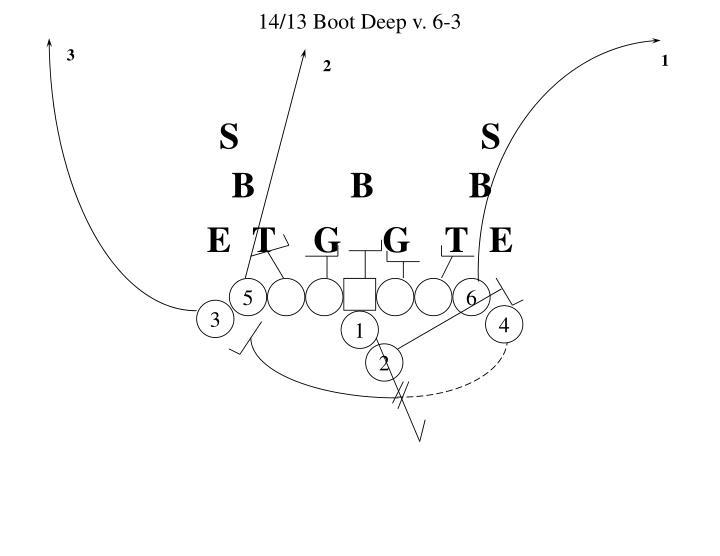 14/13 Boot Deep v. 6-3