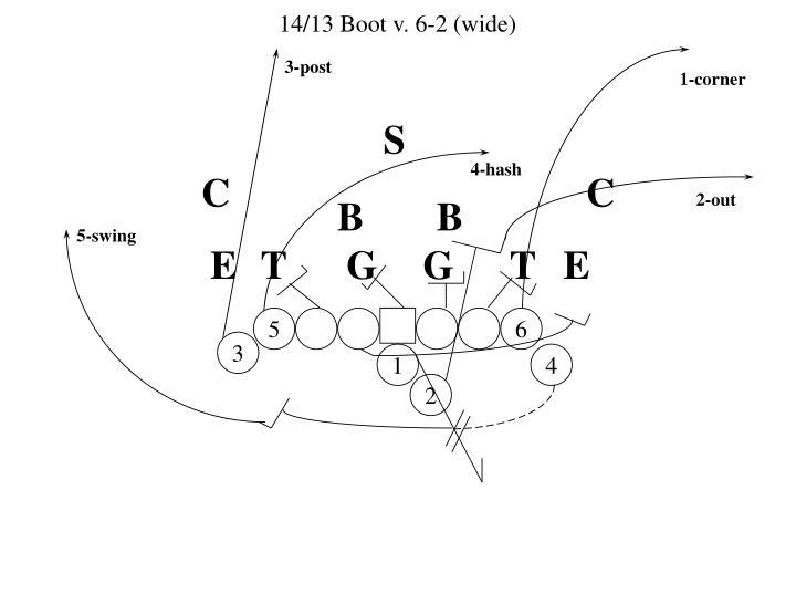 14/13 Boot v. 6-2 (wide)