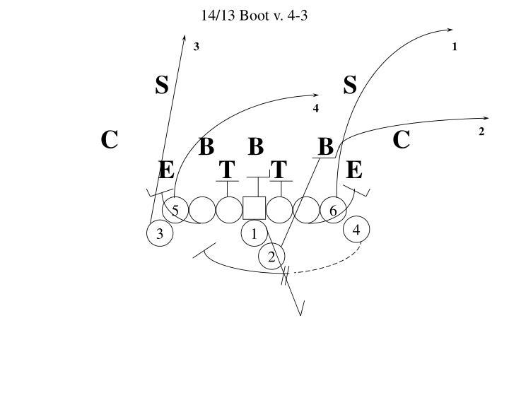 14/13 Boot v. 4-3