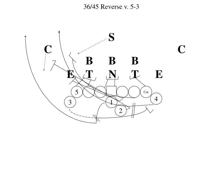 36/45 Reverse v. 5-3