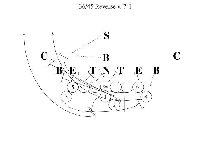 36/45 Reverse v. 7-1