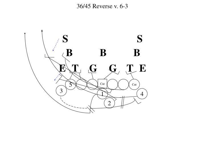 36/45 Reverse v. 6-3