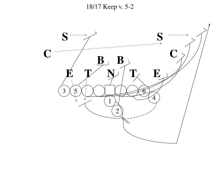 18/17 Keep v. 5-2