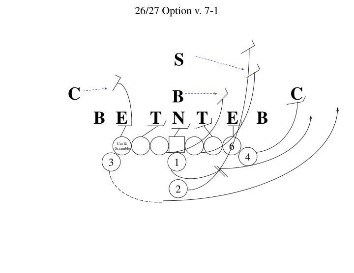26/27 Option v. 7-1