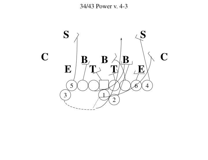 34/43 Power v. 4-3