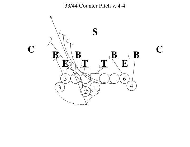 33/44 Counter Pitch v. 4-4