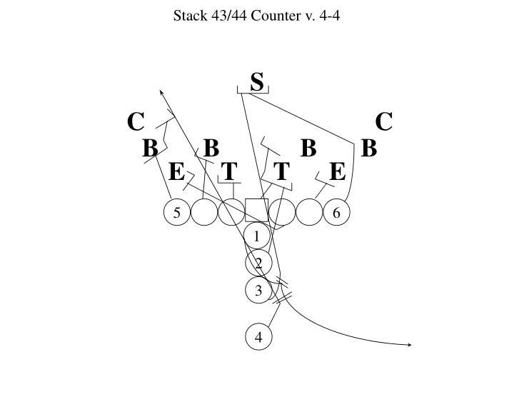 Stack 43/44 Counter v. 4-4