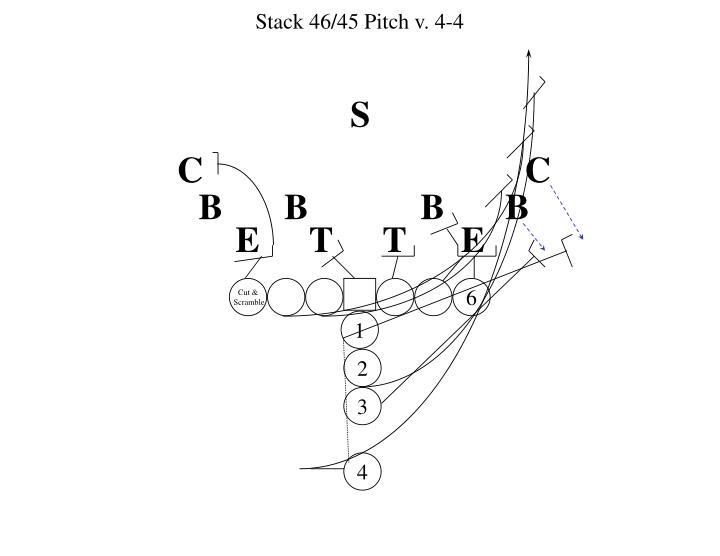 Stack 46/45 Pitch v. 4-4