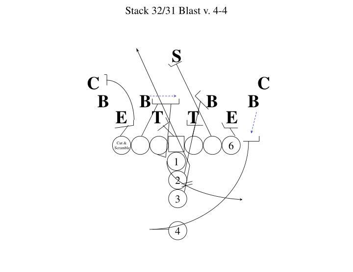 Stack 32/31 Blast v. 4-4