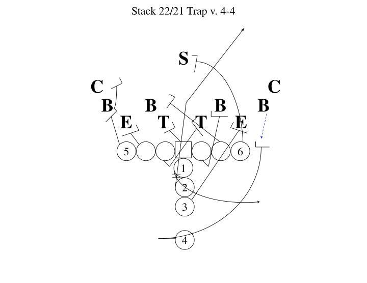 Stack 22/21 Trap v. 4-4