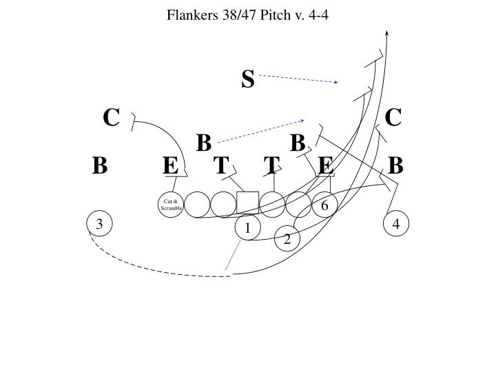 Flankers 38/47 Pitch v. 4-4