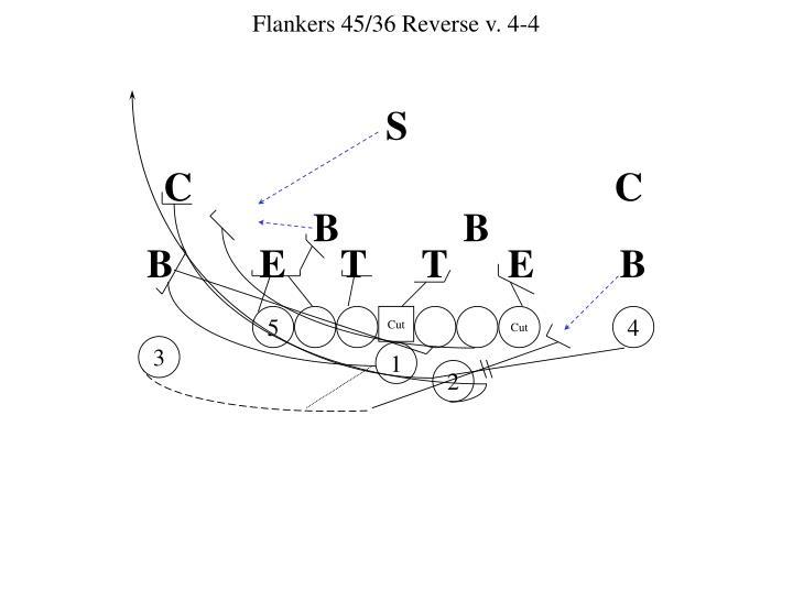 Flankers 45/36 Reverse v. 4-4