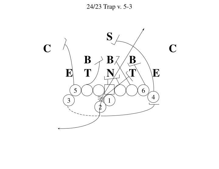 24/23 Trap v. 5-3