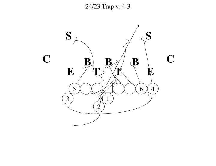 24/23 Trap v. 4-3