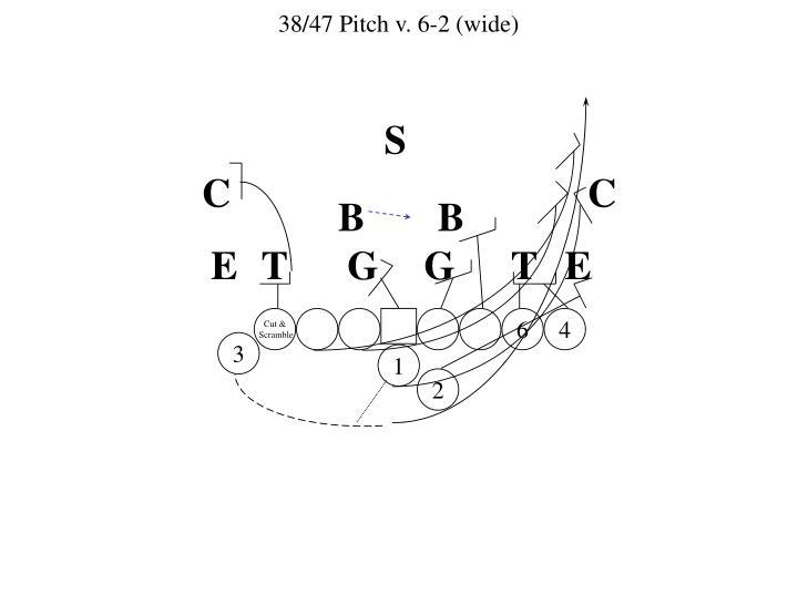 38/47 Pitch v. 6-2 (wide)