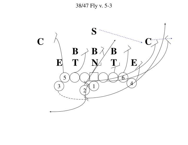 38/47 Fly v. 5-3