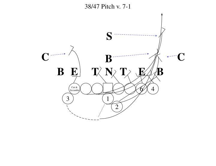 38/47 Pitch v. 7-1