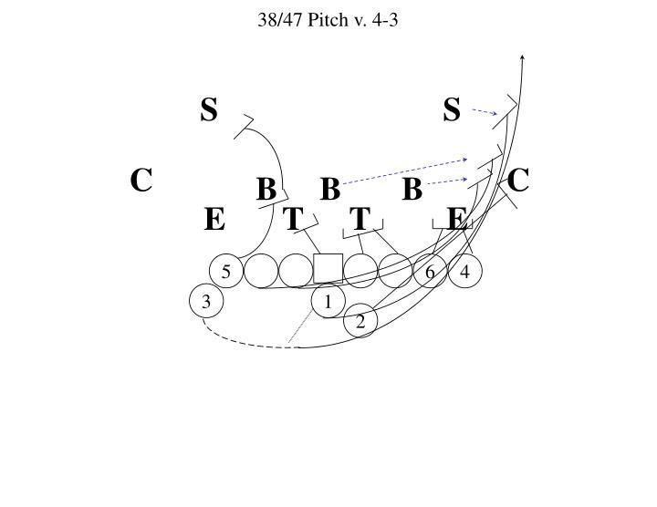 38/47 Pitch v. 4-3
