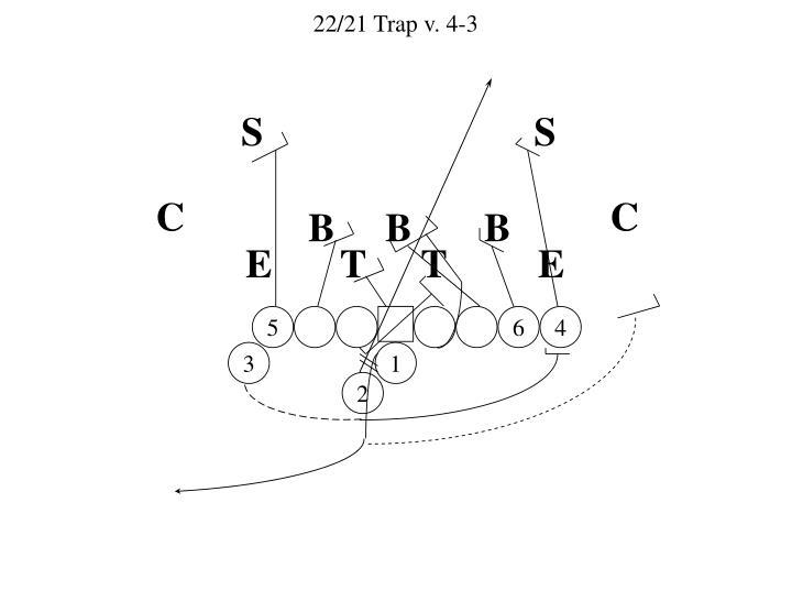 22/21 Trap v. 4-3