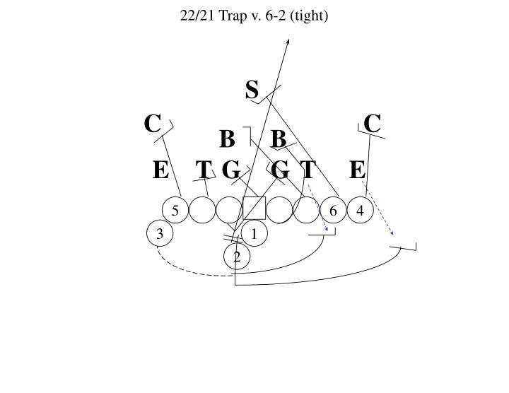 22/21 Trap v. 6-2 (tight)
