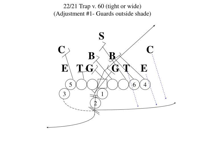 22/21 Trap v. 60 (tight or wide)