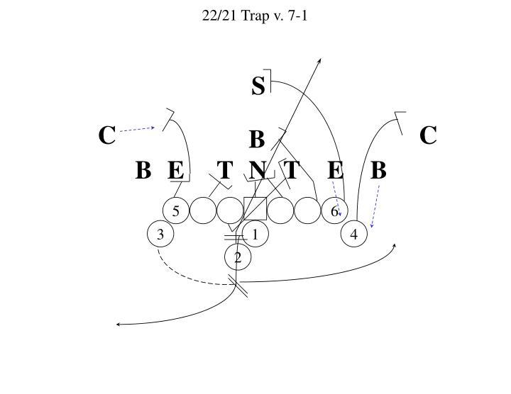22/21 Trap v. 7-1
