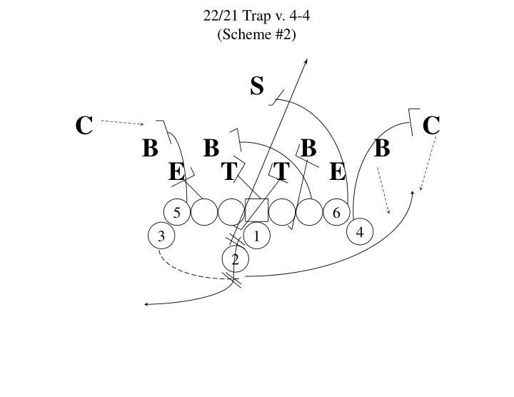 22/21 Trap v. 4-4