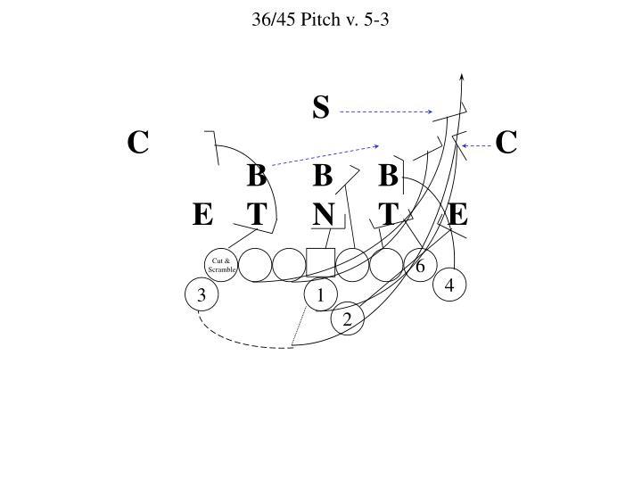 36/45 Pitch v. 5-3