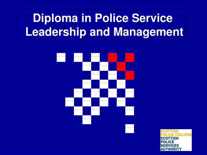 Diploma in Police Service