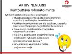 aktiivinen arki kuntouttava ryhm toiminta4