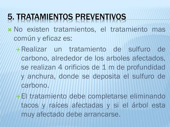 No existen tratamientos, el tratamiento mas común y eficaz es: