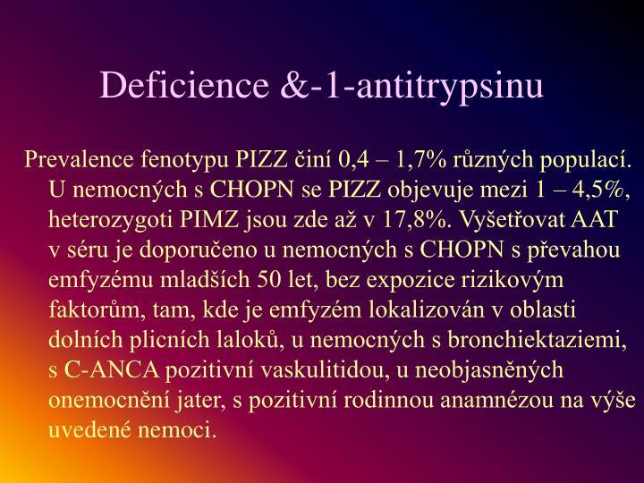 Deficience