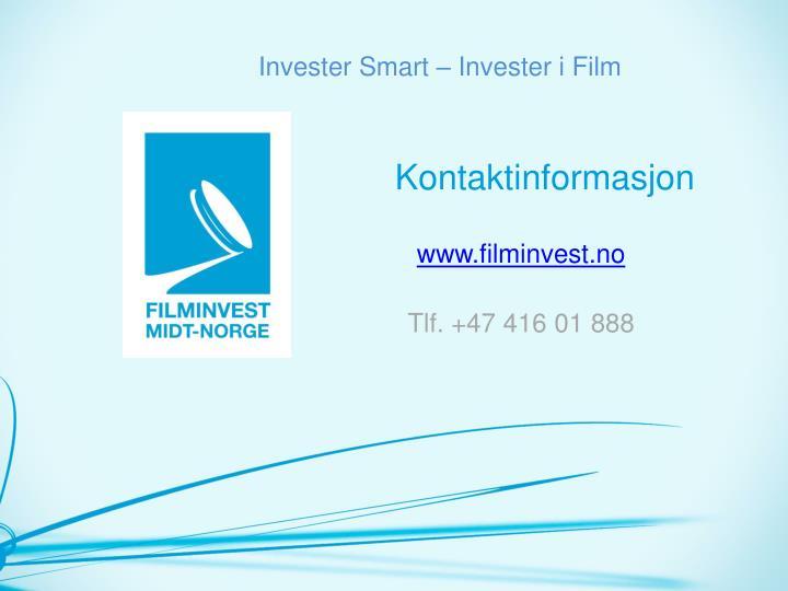Invester Smart – Invester i Film
